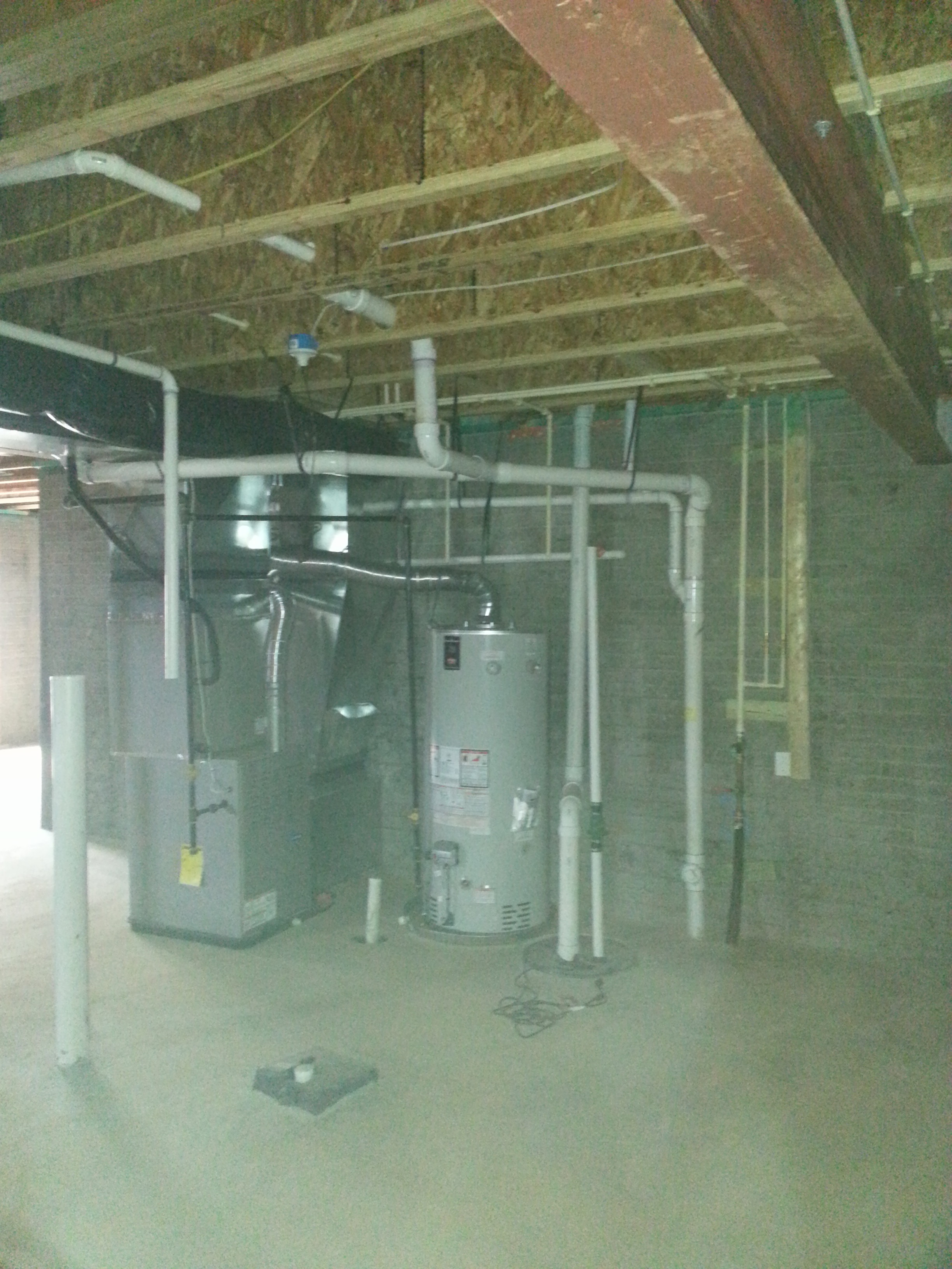 basement mechanical area