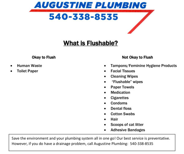 what is flushable
